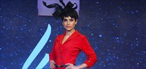 Kangna walks the ramp for Liva Launch