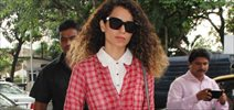 Kangna Departs For Couture Week Show In Delhi