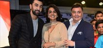 Ranbir Kapoor, Rishi Kapoor, And Neetu Singh At CCDT NGO 25th Year Celebrations