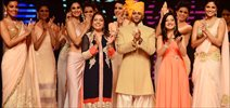 Karanveer Bohra Walks The Ramp At IIJW 2015