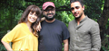 Imran And Kangna On The Sets Of Katti Batti
