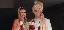 Kunal Khemu and Soha Ali Khan pose with family post wedding ceremony