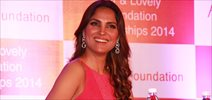 Lara Dutta at Fair & Lovely Foundation event