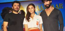 Alia Bhatt And Shahid Kapoor At Shandaar New Song Launch