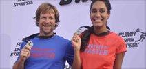 Lisa Haydon & Jonty Rhodes At Puma Urban Stampede Event