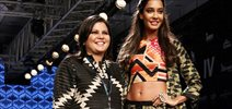 Lisa Haydon Walks For Swati Vijaivargie At LFW