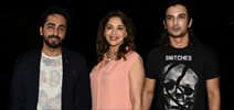 Madhuri, Sushant, Ayushmann And Others At Manish Paul Birthday Bash