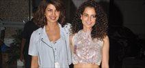 Priyanka & Kangna Celebrate National Award Win For Respective Movies