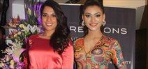Richa Chadda & Urvashi Rautela Grace The Launch Of The Salon 'A-Kreations' In Bandra