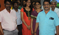 Nilavil Mazhai Movie Song Recording