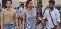 Tabu, Sajid & Abhishek Kapoor Snapped On Sets Of Fitoor