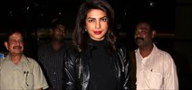 Priyanka Chopra Arrives Back From Quantico Shoot To Promote Bajirao Mastani