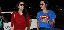 Parineeti And Sania Mirza Fly Off To Goa