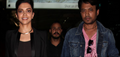 Deepika & Irfan Return From Piku Promotions In Delhi
