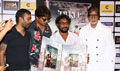 Amitabh Bachchan, Irrfan Khan and Shoojit Sircar  at Piku's DVD launch