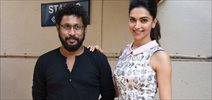Deepika & Shoojit At Piku Media Meet