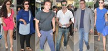 Celebs Depart To Goa For Planet Hollywood Lauch