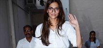 Sonam Kapooor Snapped Post AD Shoot In Mumbai