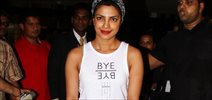 Priyanka Returns From LA Quantico Shoot