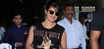 Priyanka Chopra returns from USA