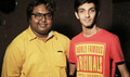 D Imman And Anirudh Ravichander At Romeo Juliet Song Recording