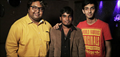 D Imman And Anirudh Ravichander At Romeo Juliet Song Recording