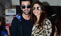 Ranbir Kapoor And Deepika Snapped During Tamasha Promotions