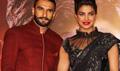 Ranveer SIngh And Priyanka Chopra At Bajirao Mastani Song Launch