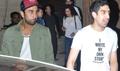 Ranbir & Ayan Snapped At Aamir Khan's House