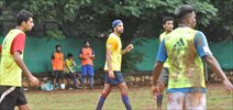 Ranbir Kapoor snapped at football practice