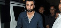 Ranbir Kapoor Snapped Post An AD Shoot In Mehboob Studio