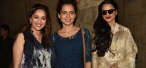 Rekha & Madhuri Dixit Watch Tanu Weds Manu Returns