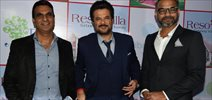 Anil Kapoor And Abhinay Deo At Resovilla Launch