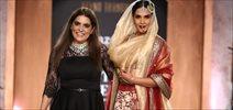 "Richa Chadda Walks For ""SHAHBANU"" by Reynu Taandon @ India Couture Week 2015"