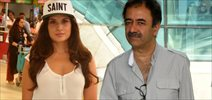 Richa Chadda & Rajkumar Hirani Snapped At Domestic Airport
