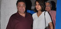 Rishi Kapoor And Neetu Snapped At Olive