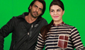 Jacqueline And Arjun Rampal At Roy Promotions