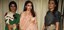 Soha, Konkana, And Deepti Naval Grace Sanjay Garg Show At AIFW 2015
