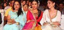 Hema Malini, Shraddha And Aditi Perform For Shri Krishna Mahotsav 2015 Launch
