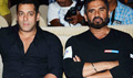 Salman Khan And Sunil Shetty At Tata Sky Health And Fitness Launch