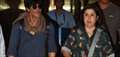 Shahrukh Khan And Farah Return From Dilwale Iceland Shoot