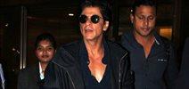 Shah Rukh Khan Returns From Delhi