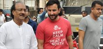 Saif ALi Khan Snapped At Mehboob Studio