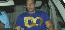 Salman Snapped Outside Himesh's Music Studio