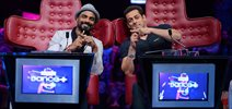 Salman Khan on the sets of Dance+ to promote 'Hero' with Sooraj & Athiya
