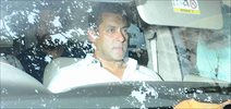 Salman Khan snapped in court after the recording session of his statement