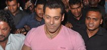 Salman Khan Snapped In Bandra