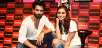 Shahid Kapoor & Alia Bhatt promote 'Shaandaar' at CloseUp event