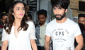 Shahid And Alia Snapped At Shaandaar Promotions