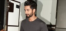 Shahid Kapoor snapped post GQ magazine's cover shoot